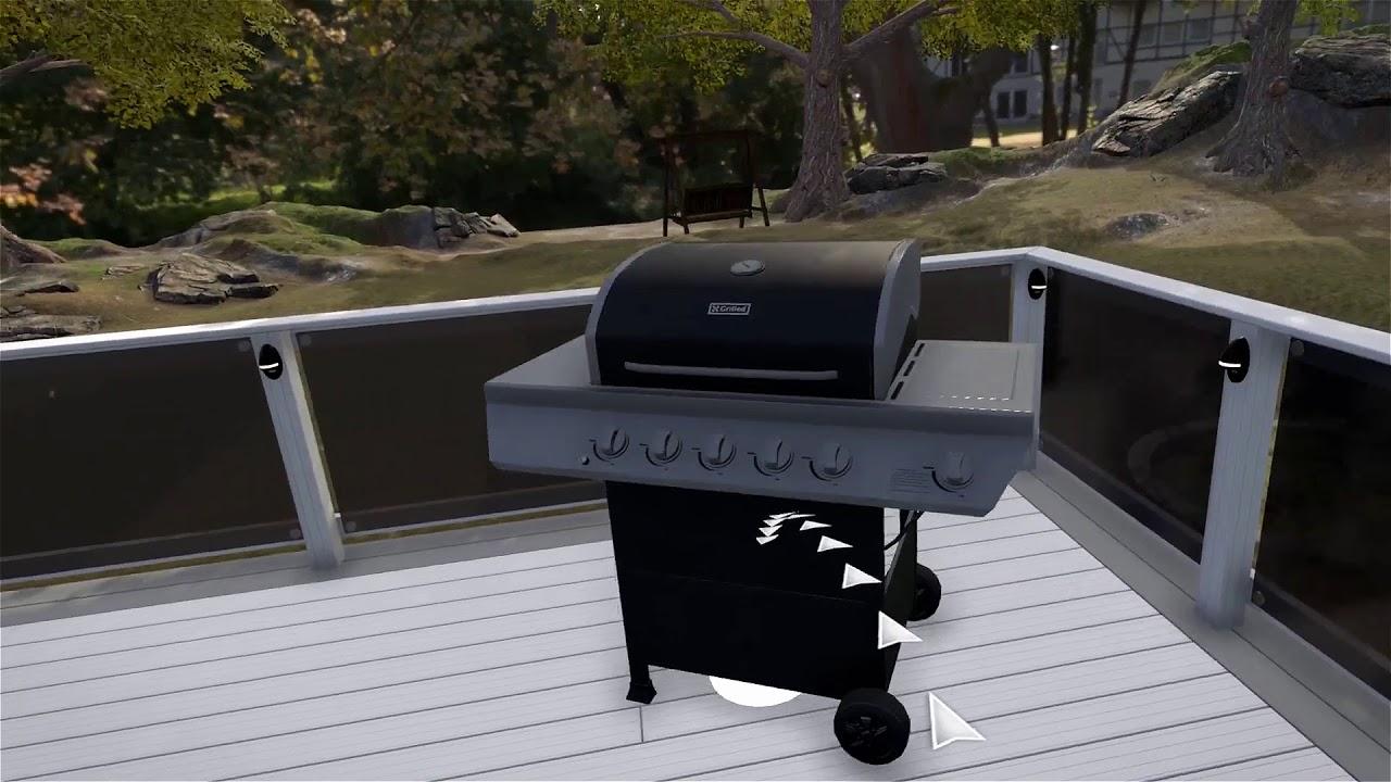 Virtual Reality Deck Design - YouTube on Virtual Patio Designer id=79790
