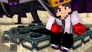 Minecraft PE 0.14.0 - MOD DIMENSÃO DO FIM E ENDERDRAGON! ( MCPE The End MOD )