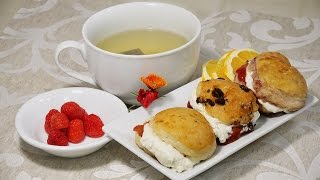 How to make Scones 3 Ways