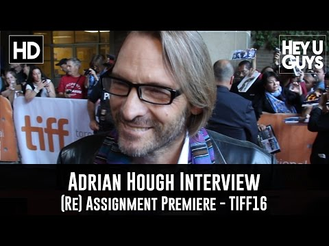 Adrian Hough Premiere   Re Assignment  TIFF 2016