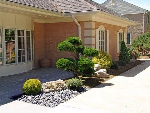 "Japanese Garden ""Before & After"" . Lee's Oriental Landscape Art"
