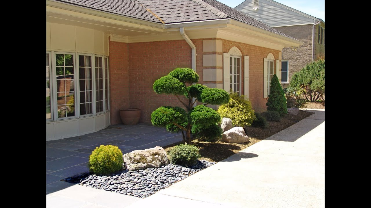 Small Front Yard Landscaping Before And After : Japanese garden quot before after lee s oriental