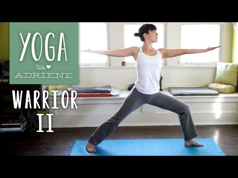 Warrior 2 Yoga Pose - Yoga With Adriene