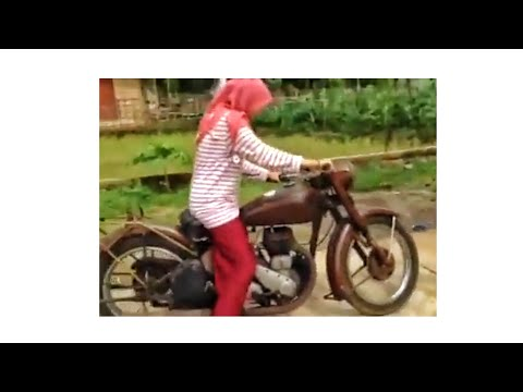 Kick Starting BSA Side Valve 500cc (standard) Banjarengara