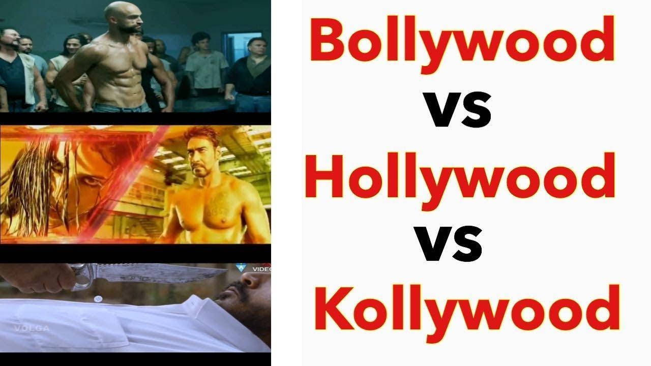 Download Hollywood vs Bollywood vs Tollywood vs Kollywood || Shirt removing Fight scene