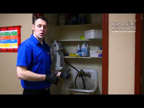 Commercial Cleaning - Cleaning Equipment And Supplies Storage