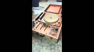 Vinyl Record Recording Machine