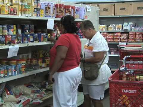 Newly Poor Lining Up at Food Banks
