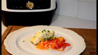 Рыба на Пару с Овощами в Мультиварке скороварке Редмонд Рецепты в мультиварке скороварке