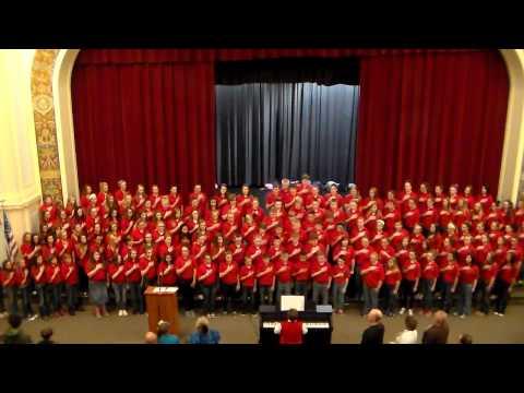 Connersville Middle School Choir 2014 Veteran's Day Program
