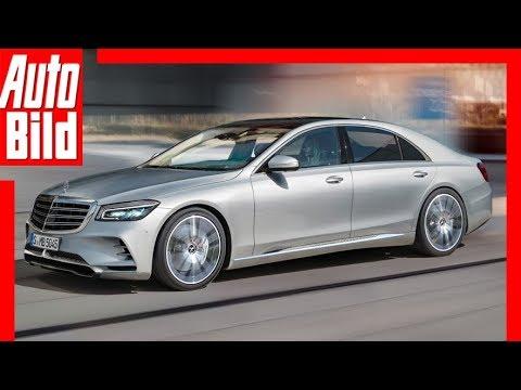 Zukunftsaussicht: Mercedes S-Klasse (2020) Details ...