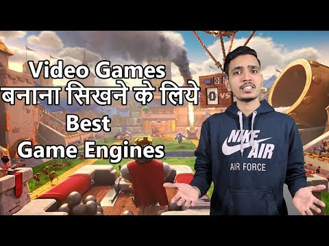 Best Game Engines To Start Your Game Development In Hindi