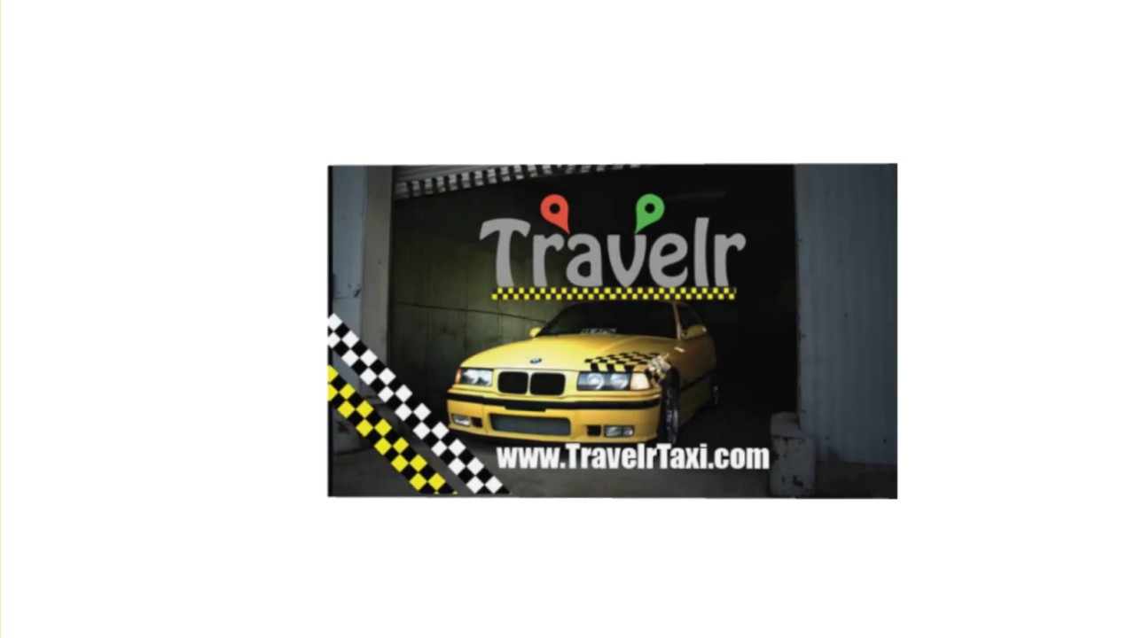 Travelr Taxi & Tours | Business card v2 - YouTube
