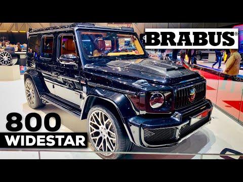 2019 BRABUS 800 WIDESTAR (G63 AMG), BRABUS 900 V12 S650 MAYBACH, BRABUS 850 4X4 1 OF 5 GENEVA 2019!