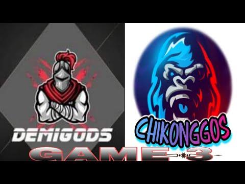 2021 09 12 GAME 21 TEAM CHIKONGGOS VS TEAM DEMIGODS GAME 3 |