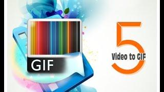 شرح البرنامج الرائع Video to GIF لحويل الفيديو إلى صورة متحركة