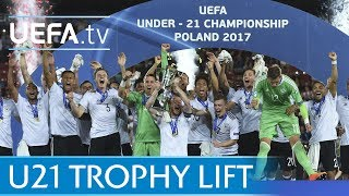 Germany lift the 2017 U21 trophy