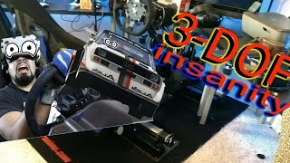 Samsung Odyssey Pcars 2 3DOF motion rig!!!