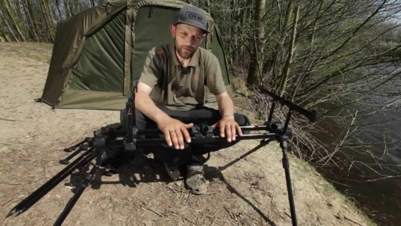 Peche A La Carpe Fox Tv Nouveau Rod Pod Ranger Youtube