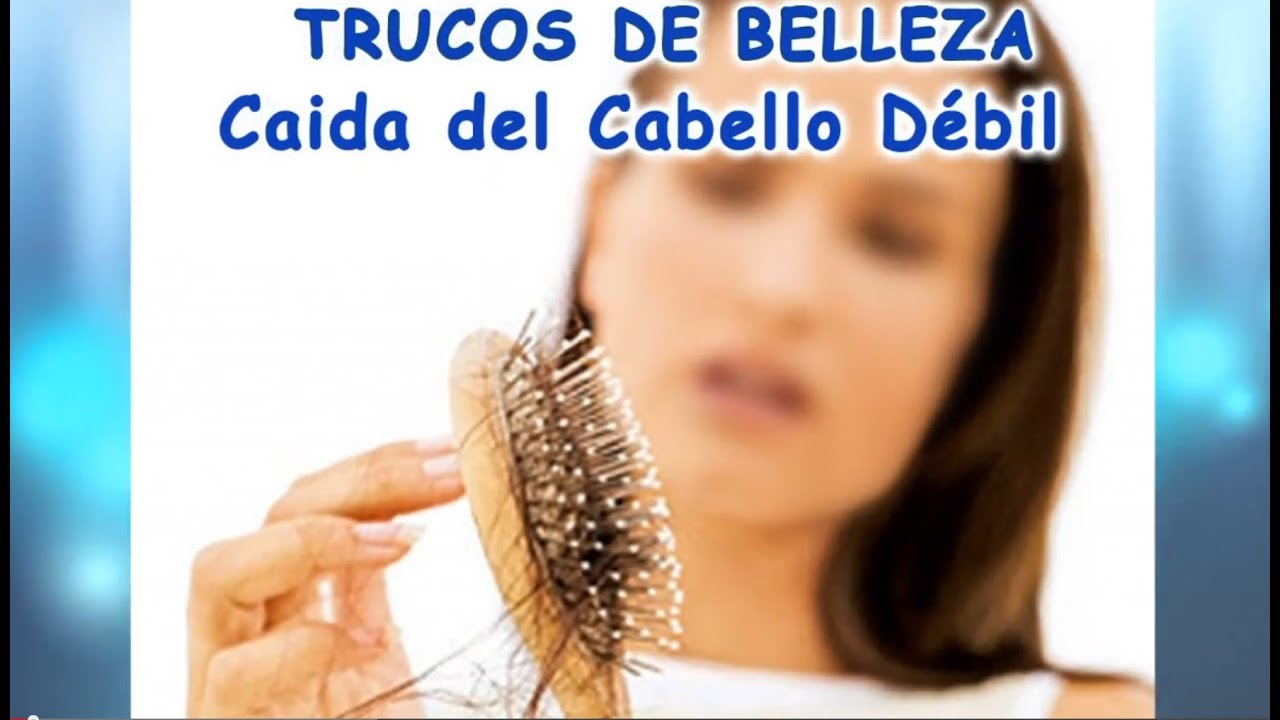 La caida del cabello tratamiento natural
