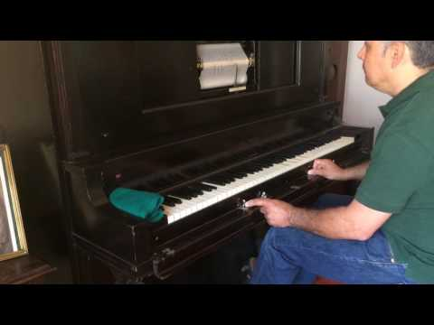 ANYTHING GOES (Cole Porter) Player piano.