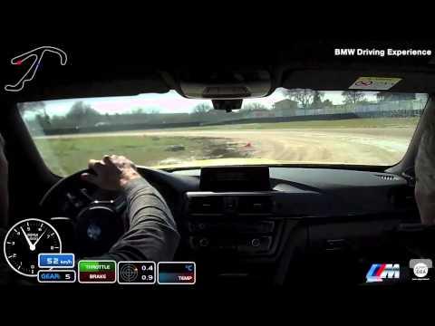 Alex De Angelis  @ Flat Track Misano Adriatico BMW Driving Experience