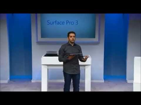 Microsoft Surface Pro 3 - Launch Full Event - Tuesday, May. 20