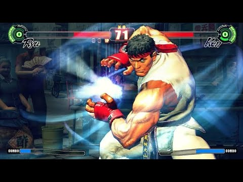 Street Fighter 4 HD Gameplay On Android