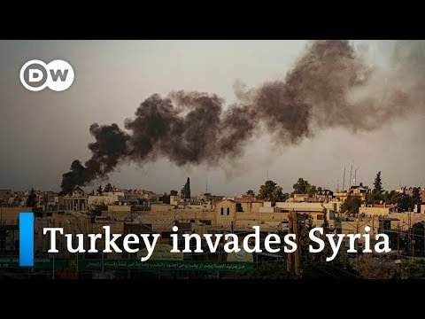 Turkey launches airstrikes on Syrian Kurdish territory | DW News