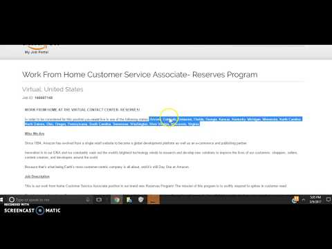 Work from Home at Amazon – Customer Service Associate / Amazon reserves
