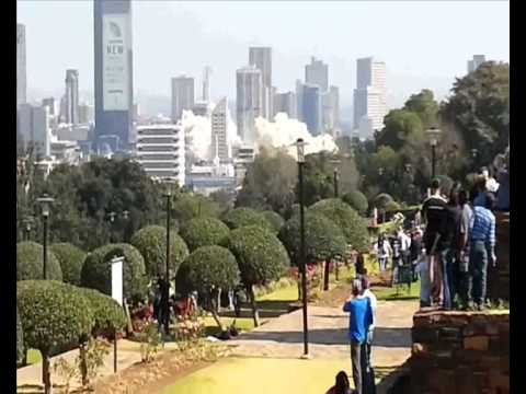 Pretoria Building Implosion