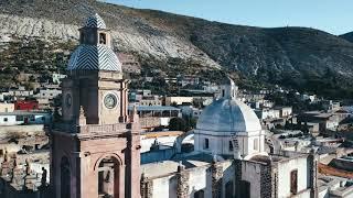 Backpack Discovery - Un petit Dronie sur l'ancien village de Mineurs Real de Catorce au Mexique