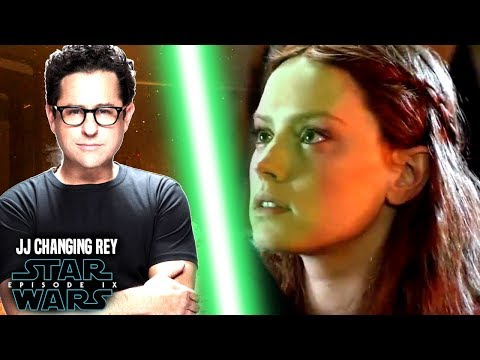 Star Wars! JJ Abrams Changing Rey In Episode 9! (Star Wars News)