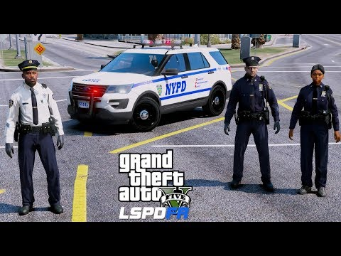 GTA 5 LSPDFR Police Mod #612 NYPD Captain Patrol - New York City Style - New Uniforms