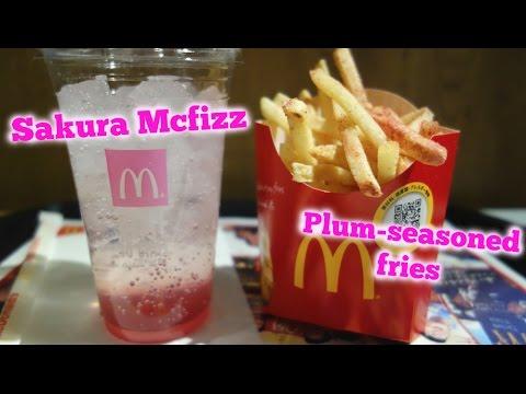 Mcdonalds Japan Sakura Mcfizz Ume Fries