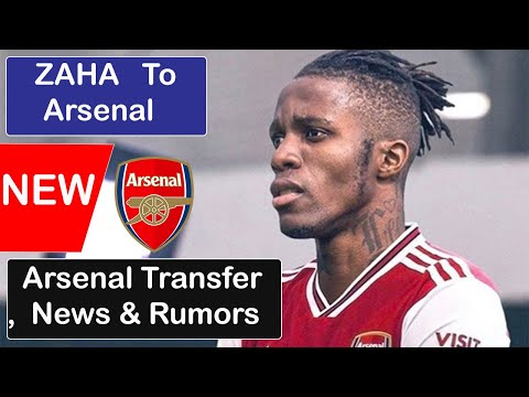 Zaha To Join Arsenal Arsenal News Now Arsenal Transfers News Today Arsenal Youtube