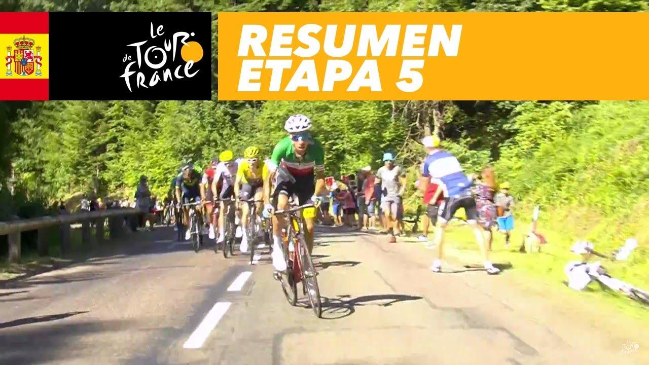 Resumen Etapa 5 Tour De France 2017 Youtube