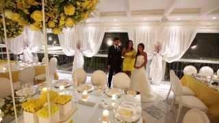 Weddings Luxury 2014 Puntata 9. Matrimonio solare e romantico illuminato dal giallo del sole.