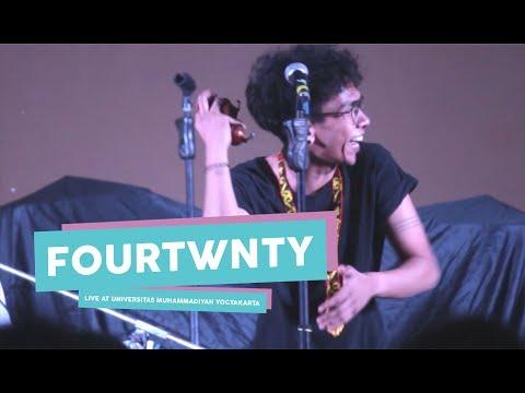 [HD] Fourtwnty - Argumentasi Dimensi  (Live at Universitas Muhammadiyah Yogyakarta, Mei 2017)