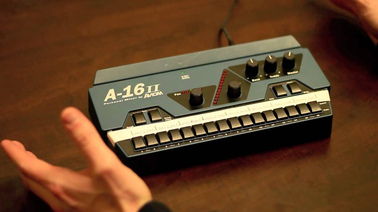 Aviom A16 II Mixer Tutorial (How to Get a Good Mix) - YouTube