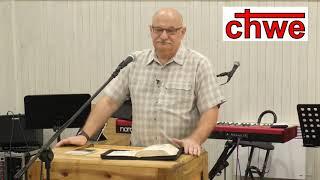 """Kazanie """"Słowo dla Ciebie"""" (29.07.18) – pastor Andrzej Cyrikas"""