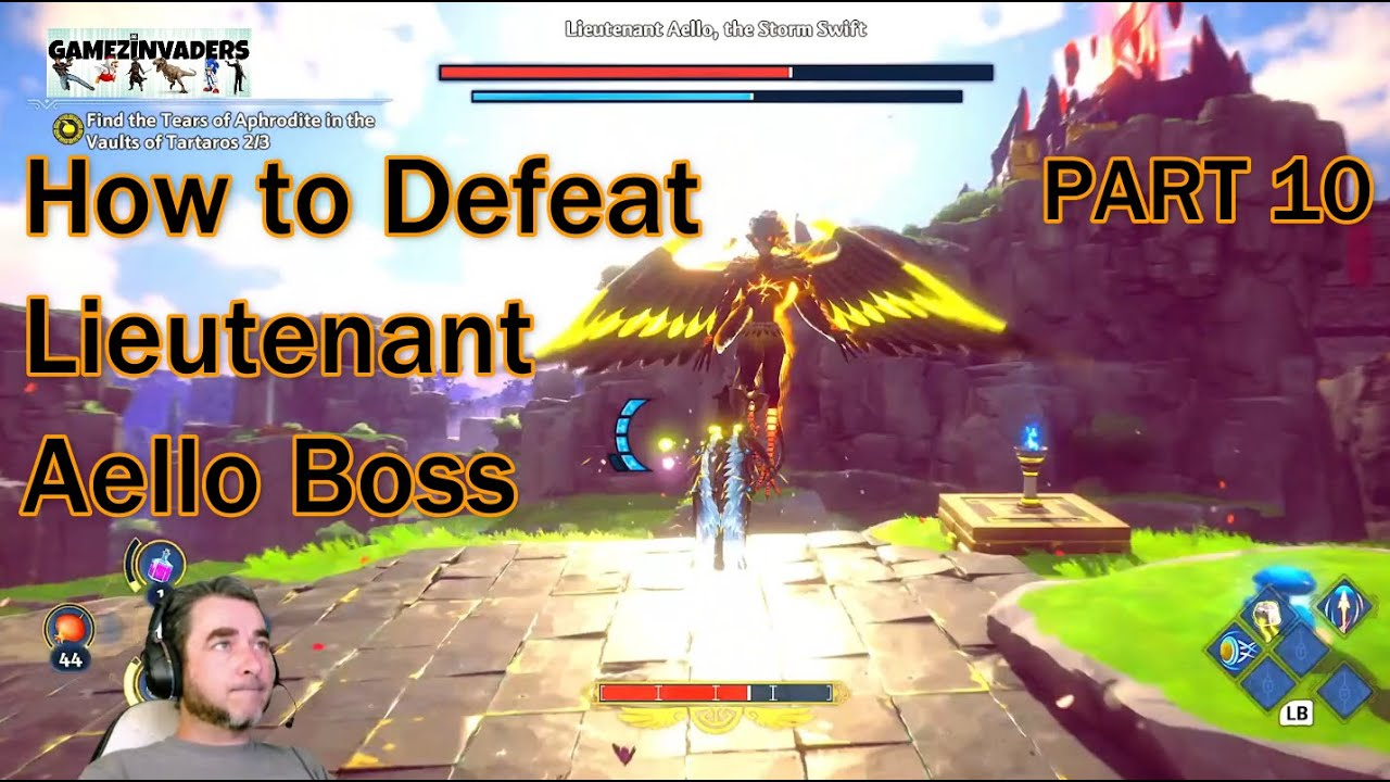 Download IMMORTALS: FENYX RISING [How to Defeat Lieutenant Aello Boss]