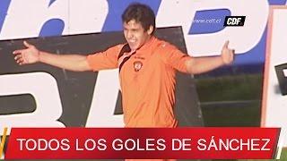 Todos los goles de alexis sánchez en el futbol chileno