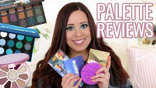BEST AND WORST NEW EYESHADOW PALETTES 2018! PART 4