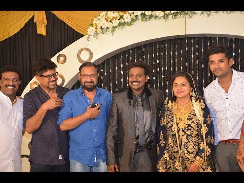 Ouseppachan ,Vijay Yesudas , Afsal at Singer Najim Arshad wedding reception video