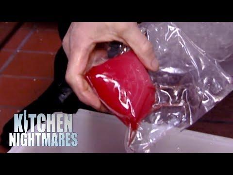 Gordon Ramsay In Awe Over Restaurant DYEING Their Tuna | Kitchen Nightmares