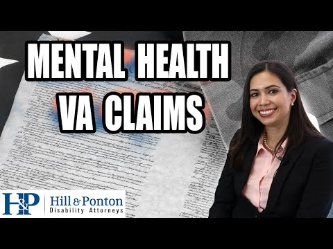 How Difficult Are VA Mental Health Claims?