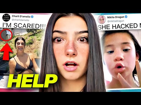 Charli D'amelio IS IN DANGER After THIS?!, Nikita Dragun HACKED By WHO?, Kio HEARTBROKEN Over Olivia