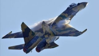 Высший пилотаж Су-35C / Su-35S ( Flanker-E)