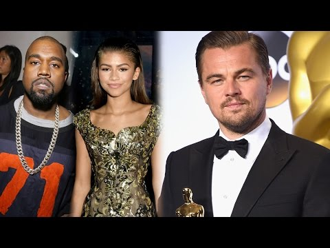 Celebs React To Leonardo DiCaprio Winning at 2016 Oscars